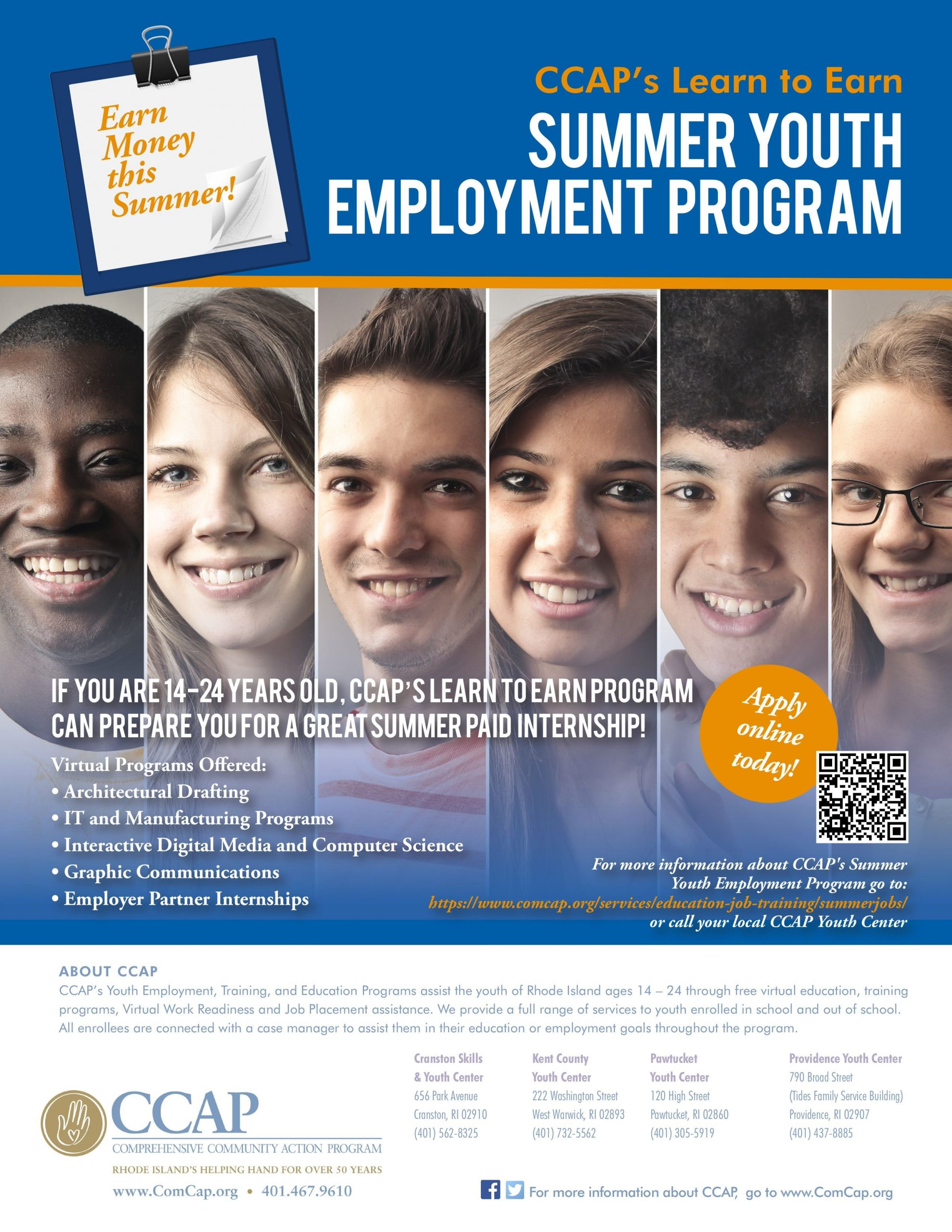 Ccap S Summer Jobs Program