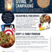 CCAP HOLIDAY GIVING CAMPAIGNS   Please help us reach our goal to support 1500 Families this Holiday Season!