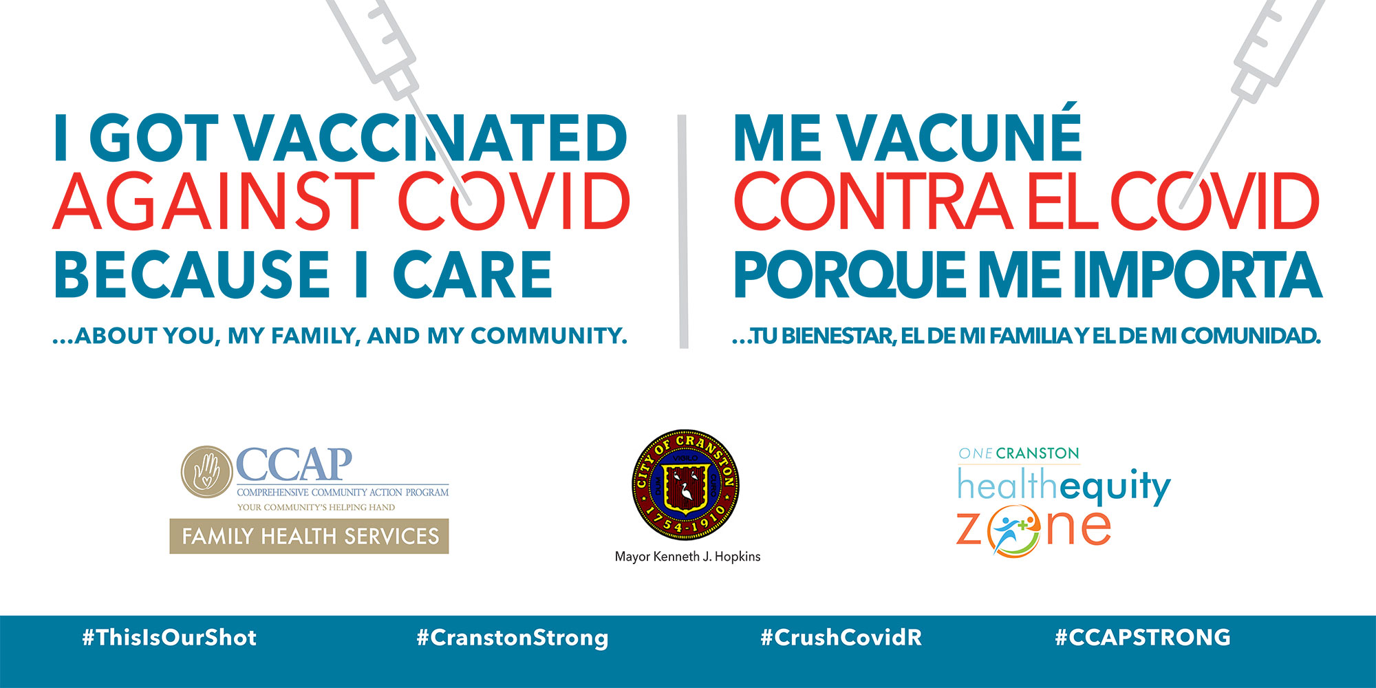 I got vaccinated banner